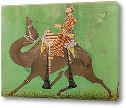 Постер Химмат Рамджи Кунвар едет на верблюде