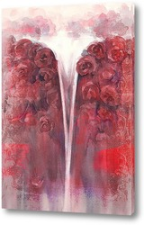 Постер Водопад роз