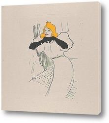 Постер Иветт Гильбер