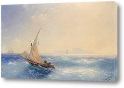 От острова Искья 1894