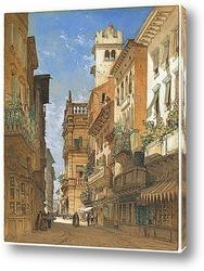 Постер Палаццо Маффей,Верона