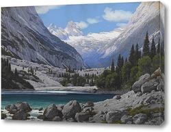 Картина Каровое озеро