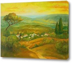 Постер Тоскания