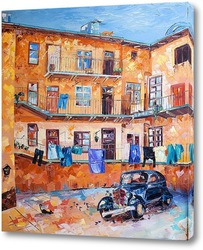 Картина Старый дворик