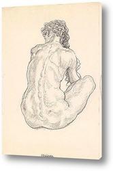 Картина Сидящая женщина
