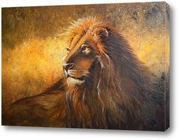 Картина Лев - царь зверей