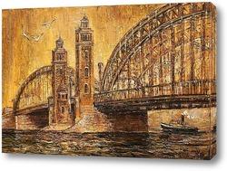 Постер Мост Петра Великого