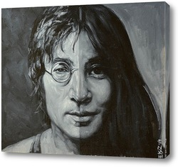 Постер Джон Леннон и Йоко Оно.