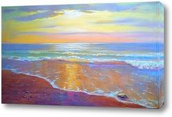 Картина янтарный берег