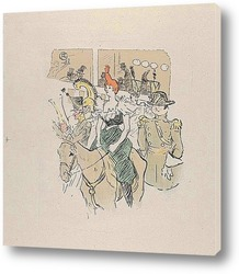 В кафе Ля Ми, 1891