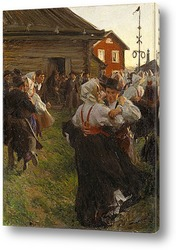 Нимфа любви, 1885