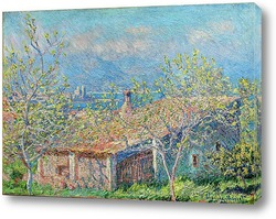 Картина Домик садовника в Антибе