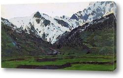 В Альпах весной. 1897