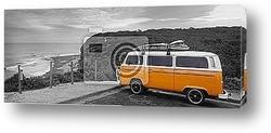 Постер Автобус серферов
