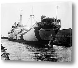 Отплытие<Луизитании>из Нью-Йорка,1915г.