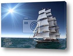 Постер Sailing boat