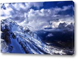 Постер Дорога в горах