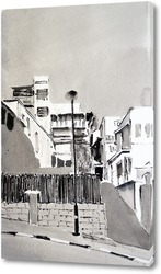 Картина Переулок