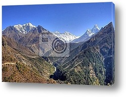 Постер Nepal / Himalaya - Everest Trek