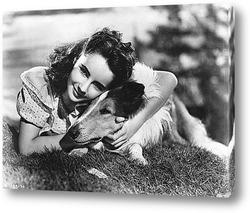 Одри Хепбёрн на вручении Оскара.