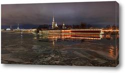 Постер Петропавловская крепость, Санкт-Петербург