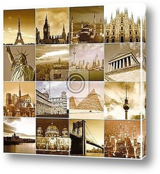 Постер Travel around the world