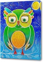 Постер Ночная сова
