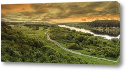 Постер Дорога вдоль Немана