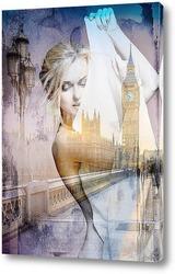Постер Лондонская мостовая