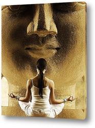 Маска Будды.