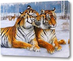 Картина Секрет тигра
