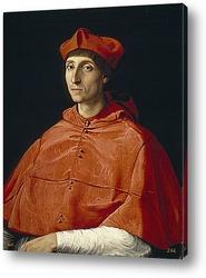 Портрет папы Льва X с кардиналами Джулио де Медичи и Луиджи де Р