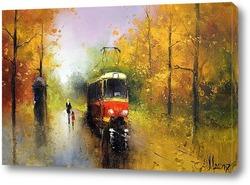 Картина Трамвайчик-3