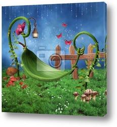 Podwieczorek w zaczarowanym ogrodzie