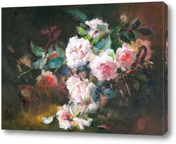 Картина розы4 от F. Mortelmans