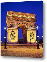 Входной аркой на территорию выставки 1889 года