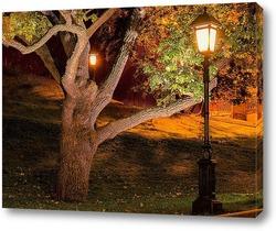 Постер Александровский сад,фонарь.