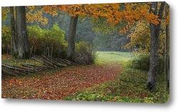 Постер Осень на хуторе