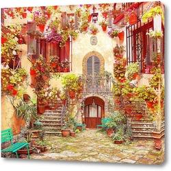 Постер Архитектура в цветах