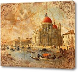 Постер Венеция. Сепия