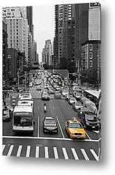 Нью-Йоркское движение на улицах