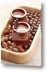 Постер Chocolate cream - dessert