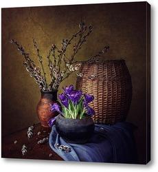 Постер Весна старого чугунка