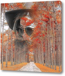 Постер Дорога в осень