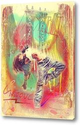 Картина Hip-hop street