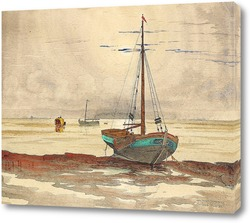 Постер Пляжная сцена из Фаноэ