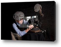 Старый кинопроектор