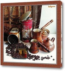 Antiquity coffee machine