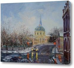"""Картина Нина Панюкова """"Улица Радио"""""""
