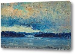 Картина Задумчивое небо, Дьюрсхольм
